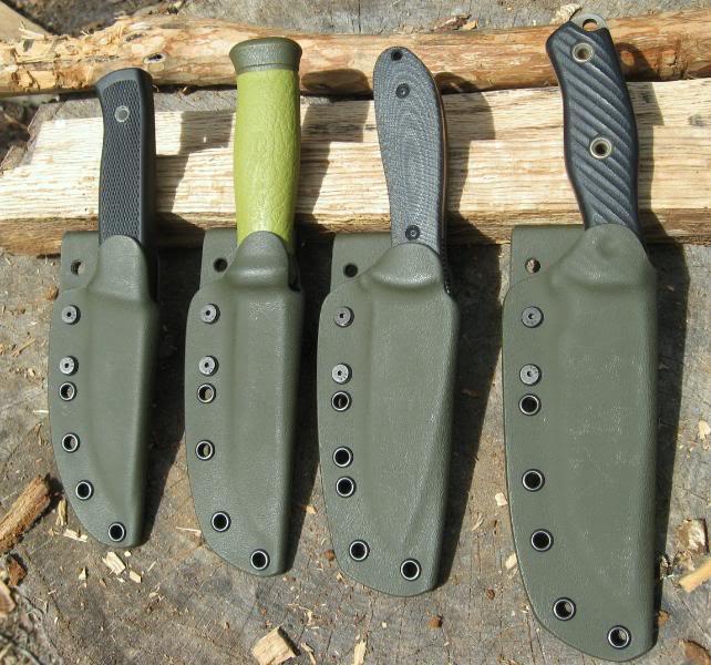 Kydex knives