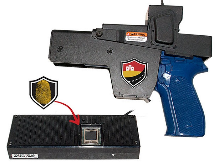 Biometric Handgun Holster