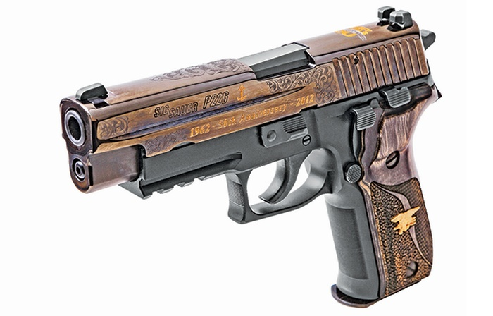 Sig Sauer P226 Navy Seal 50th Anniversary Hero