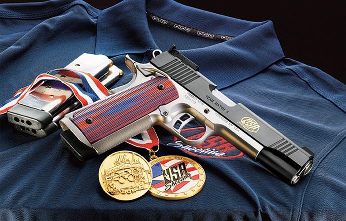 Пистолет Kimber Team Match II 1911 был создан для соревнований американской команды спортсменов-стрелков.