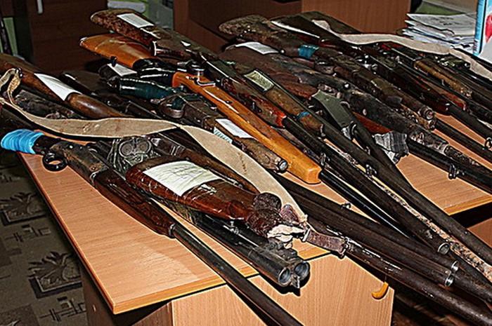 Сегодня стартует месячник добровольной сдачи оружия