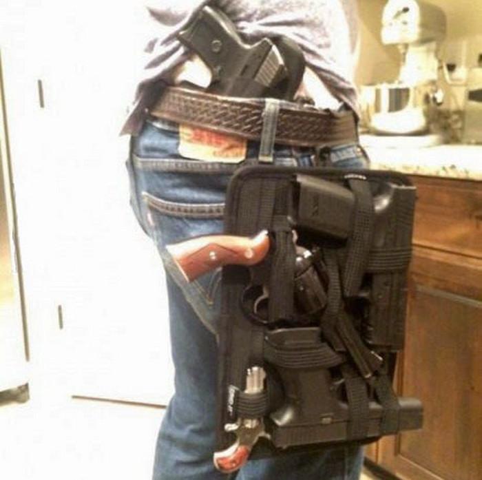 Кобура для особо открытого ношения оружия 7edc38a9cd2
