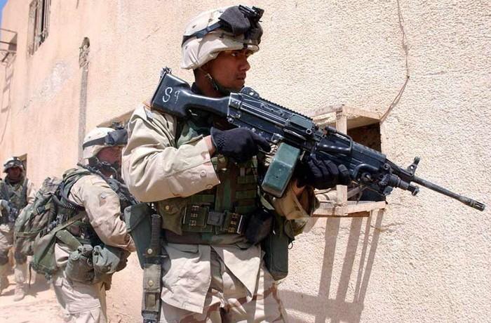 Модель Minimi/M249 от бельгийской компании FN Herstal