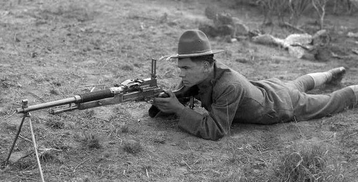 Французский пулемет Hotchkiss M1909