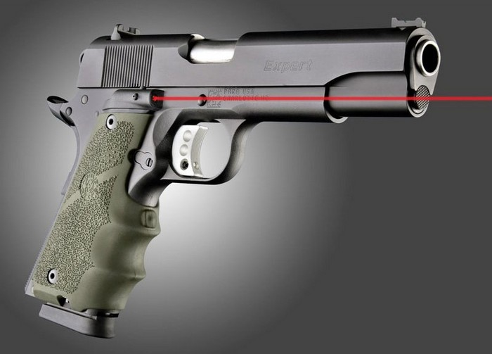 Hogue Releases Laser Enhanced Grip for 1911's
