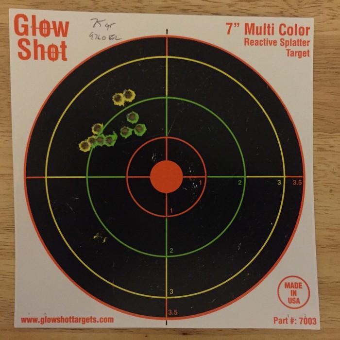 Стрельба с упора с 35 метров