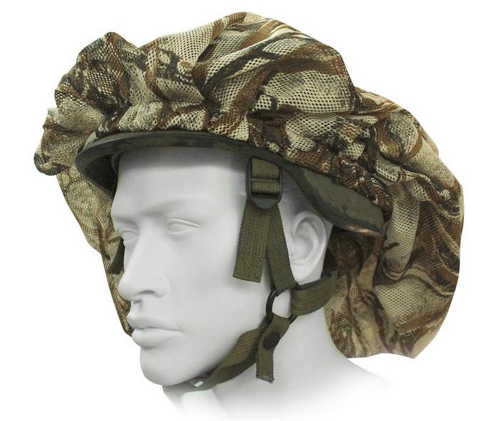 Міцнефет не повинен спадати з каски і облягати її, а «безформно» на ній триматися.