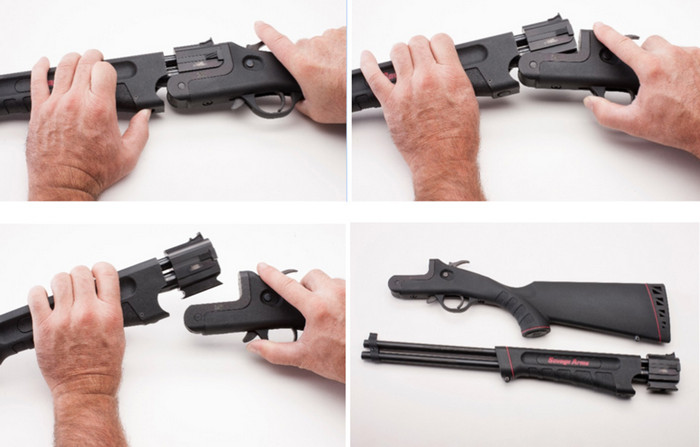 Savage Model 42 Takedown Combo Gun