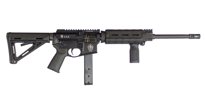 American Spirit Arms AR-15 9mm