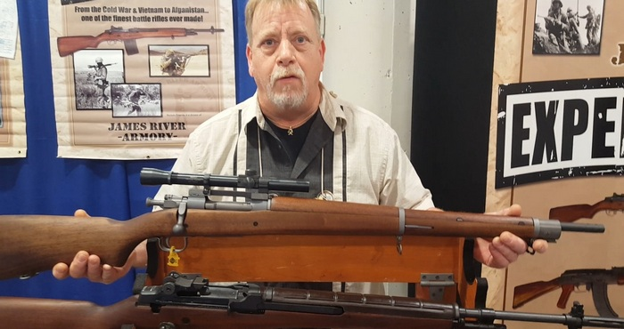 Mark Hartman, owner of James River Armory