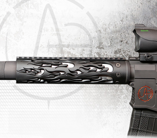 Handguards for AR-15 from Unique-ARs