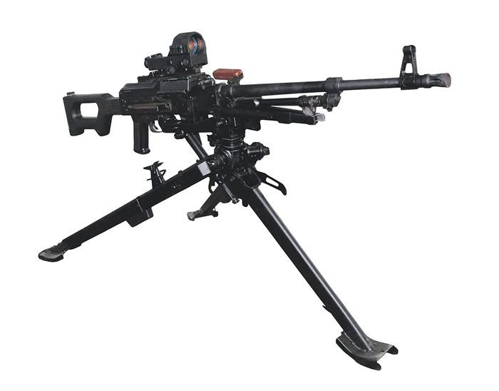 Модернизированный пулемет КМ-7,62