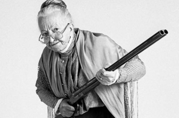 бабка с ружьём картинки