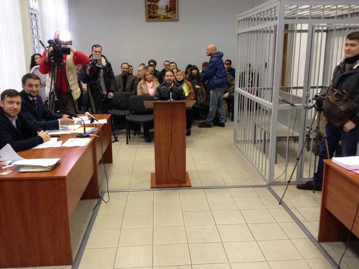 Засідання суду в справі Дениса Дубровського