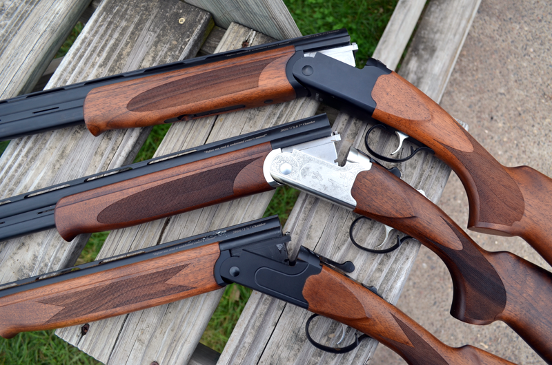 The Stevens 555 in 28-, 20-, and 12-gauge