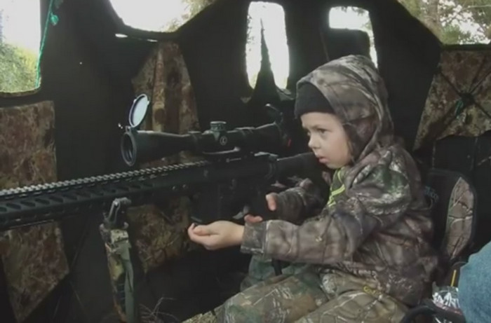 Millions Have Watched a Little Girl's Reaction to Shooting Her 1st Deer