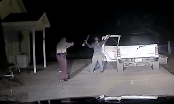 Dash cam captures dangerous takedown by deputy