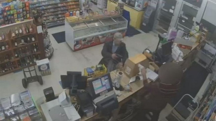 Clerk fires shot at would be robber in Darbydale