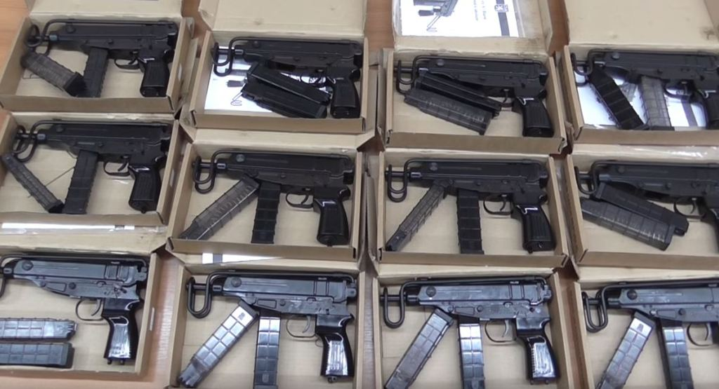 Ukrainian gun traffickers with an acquired taste of firearms