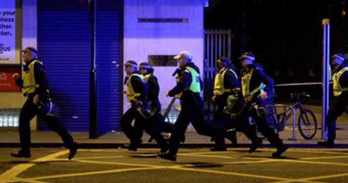 Unarmed London Police Officers Fled from Terror Attack