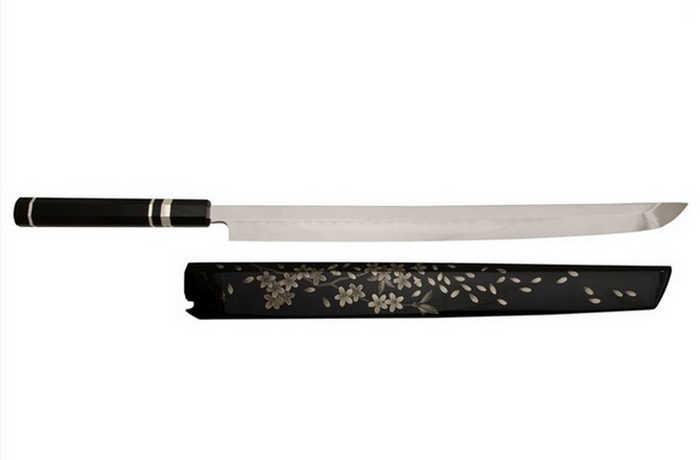 8. Nenohi Honyaki Dentokougeishi Sakimaru Takobiki