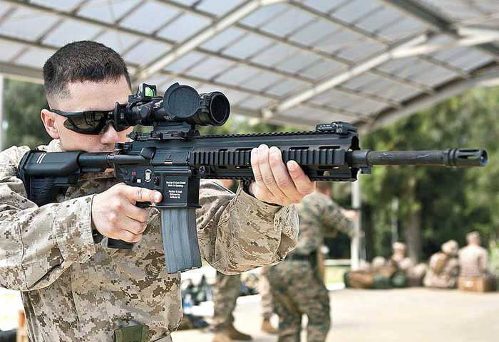 M27 Infantry Automatic Rifles (IAR)