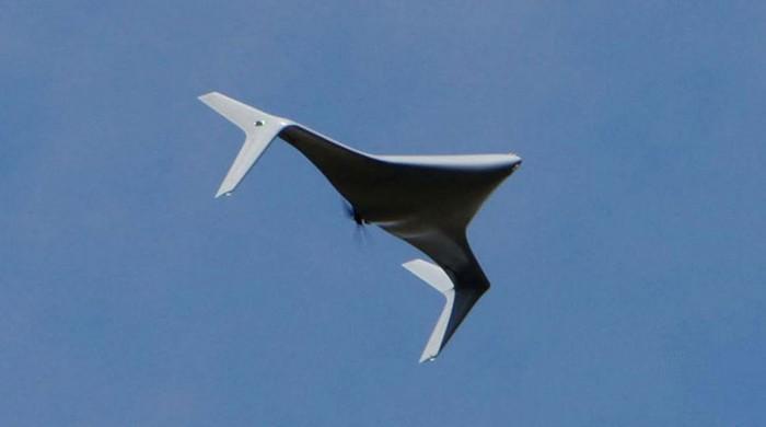 «BAT» («Летюча миша») компанії Нортроп Груммен (раніше «Кілер бі» («Бджола кілер») комапнії Рейтеон) – це дрон, що літає на середніх висотах і здатний діяти на збільшених відстанях з використанням різноманітних сенсорів і корисного навантаження, і вірогідно, з можливістю здійснювати принаймні електронну протидію. (Надано Нортроп Груммен).