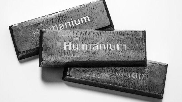 Humanium виготовляють із переробленої зброї