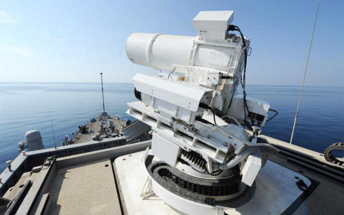 Deliver Laser Energy Weapon