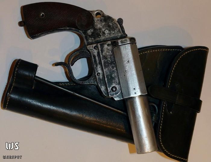 Немецкий сигнальный пистолет LP.34 (Leuchtpistole 34)