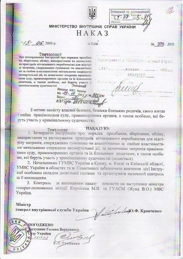 Наказ №379ДСК - 1