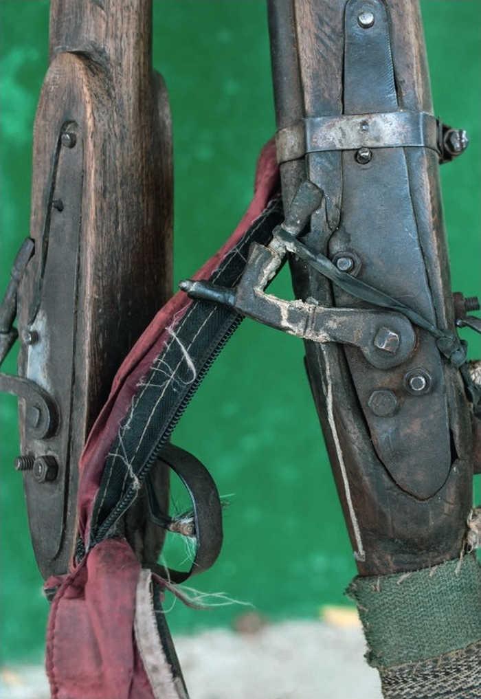 Дульнозарядний Dane gun, який конфіскували у браконьєрів в Нігерії.