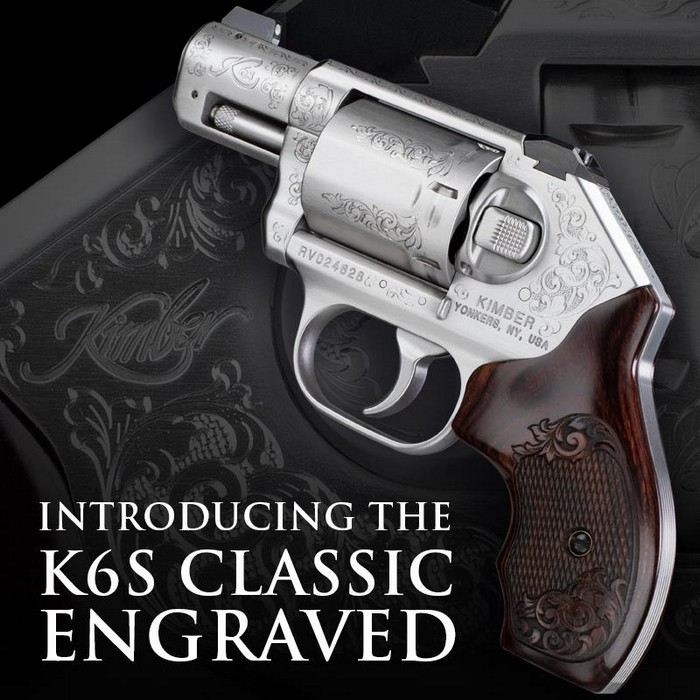 Kimber K6S Classic Engraved