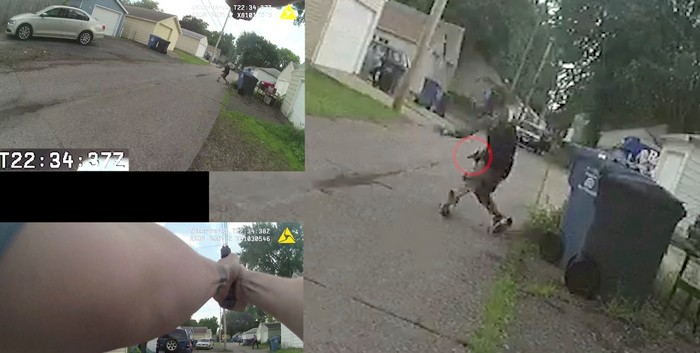Police Bodycam Captures Fatal Shooting of Thurman Blevins