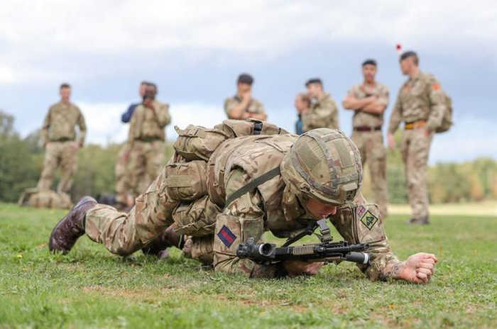 UK army fitness tests