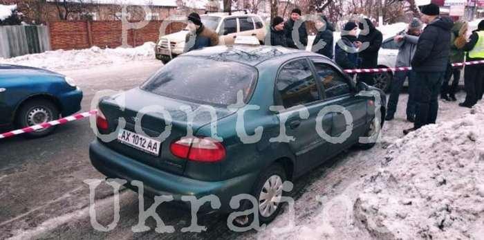 Затримана автівка