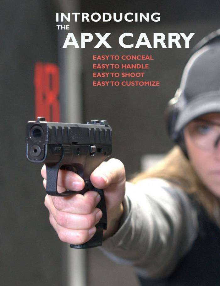 Новинка від Beretta: субкомпактний пістолет APX Carry