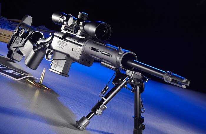 Sisk Tactical Adaptive Rifle з системою HEPR.