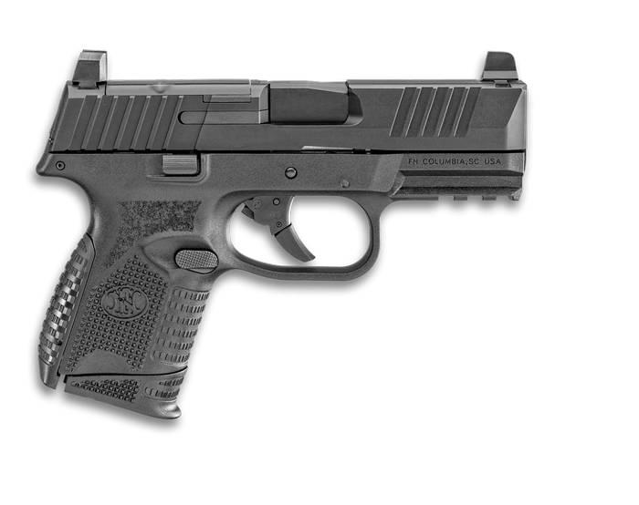 FN 509 Compact MRD у чорному кольорі.