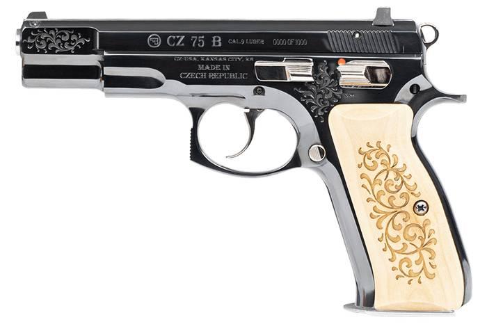 Пістолет CZ 75 B обмеженої серії