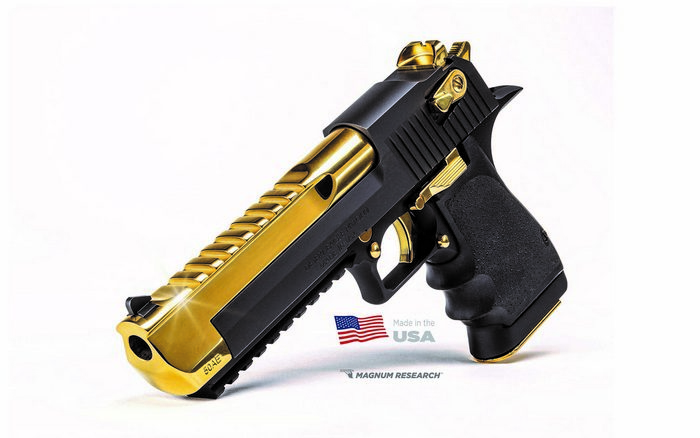 Пістолет Desert Eagle Black& Gold.